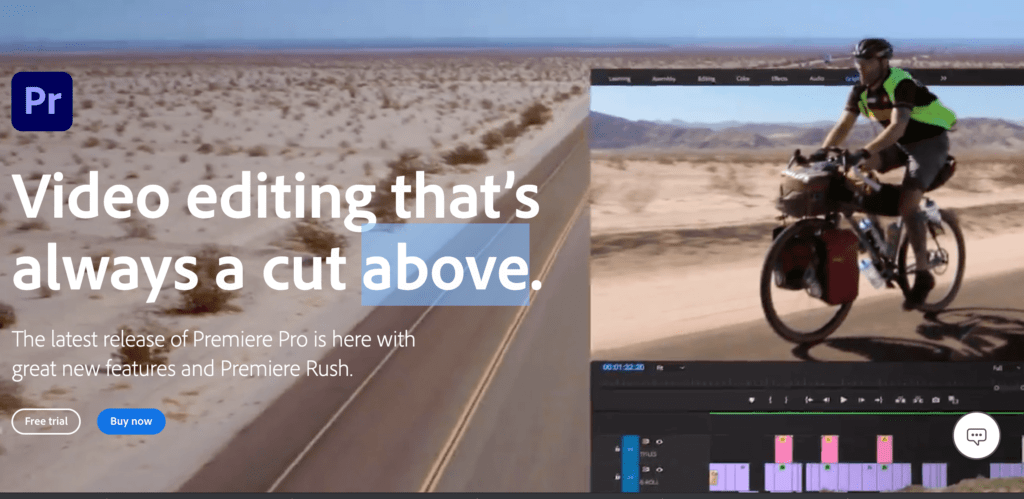 adobe premiere pro- Best Video Editing Software For YouTube