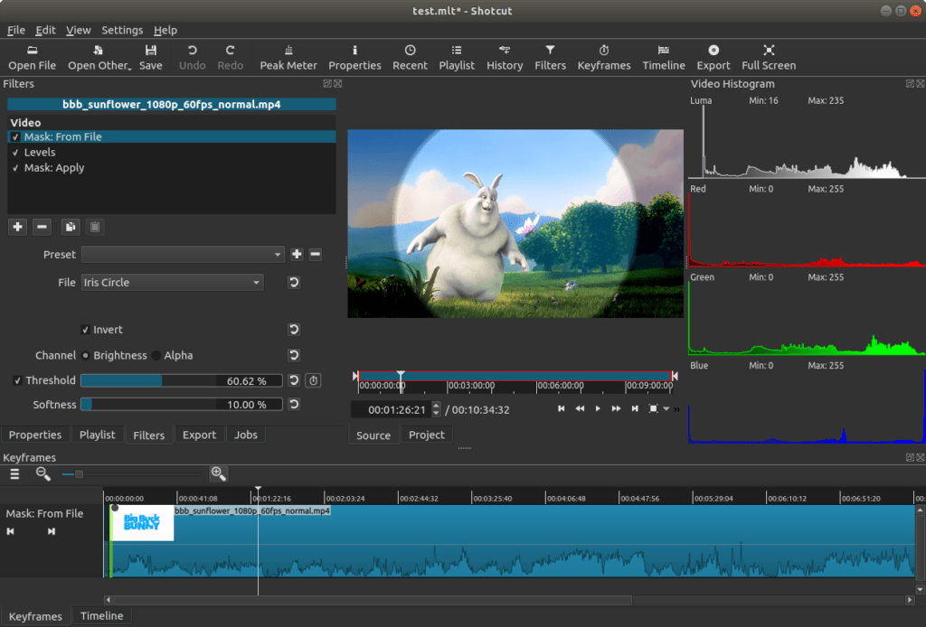 shotcut- Best Video Editing Software For YouTube