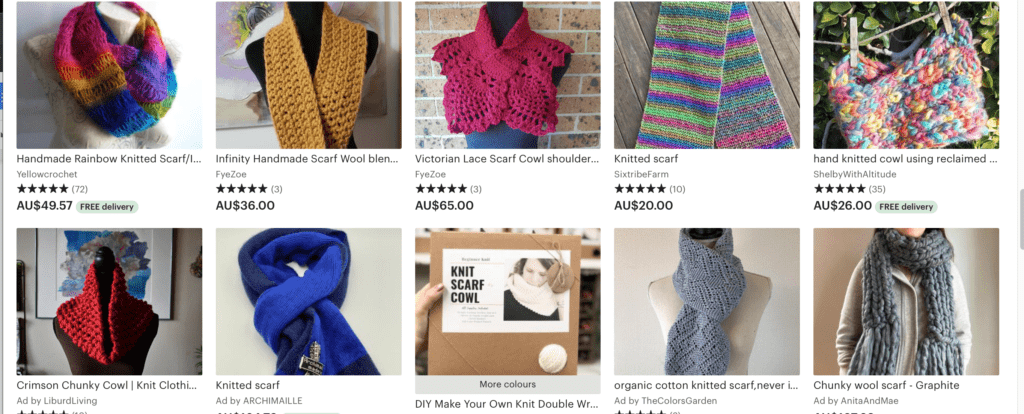 Easy knit crafts to make and sell