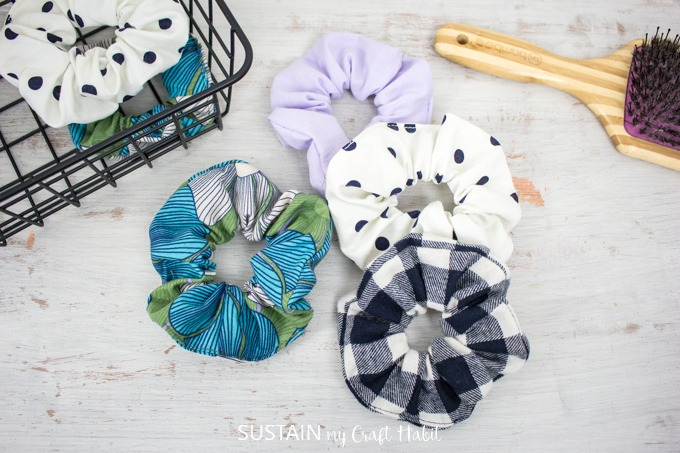 make and sell crafts - scrunchies