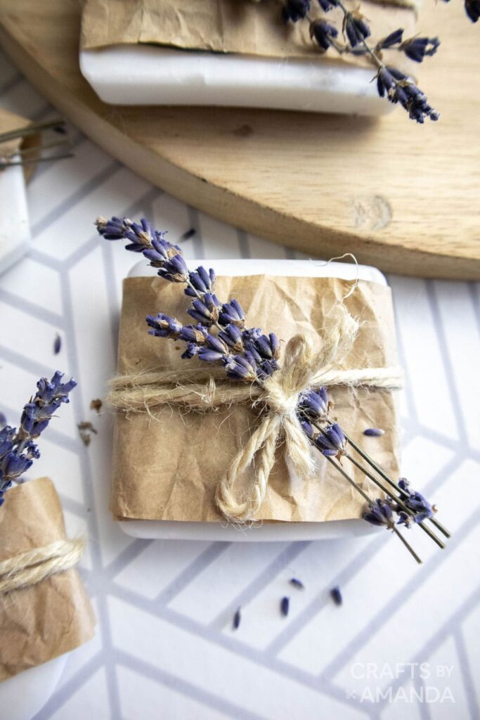 things to make and sell from home- lavender soap