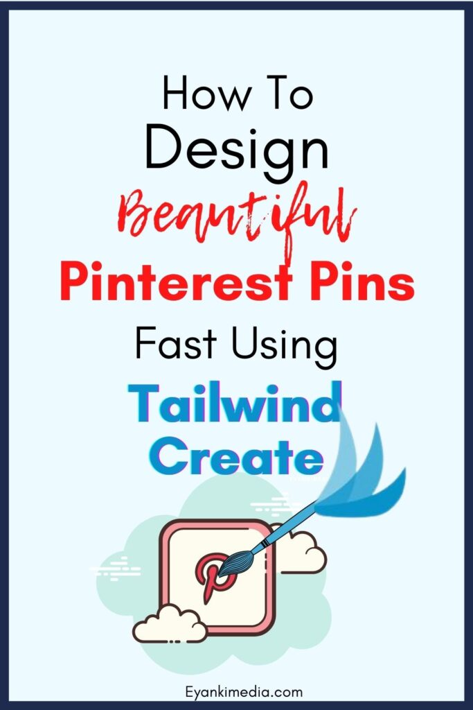 How to design pins with Tailwind create