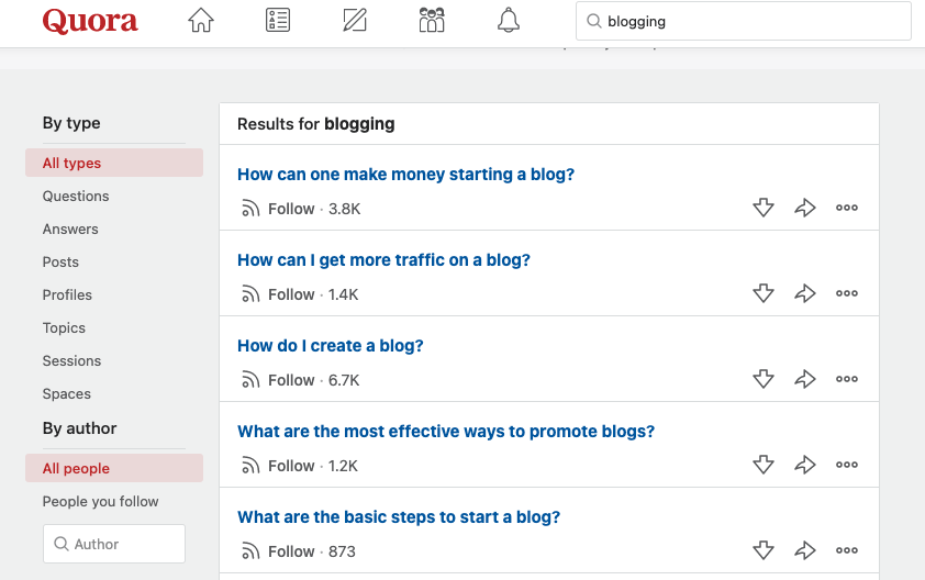 How to use quora to increase blog traffic