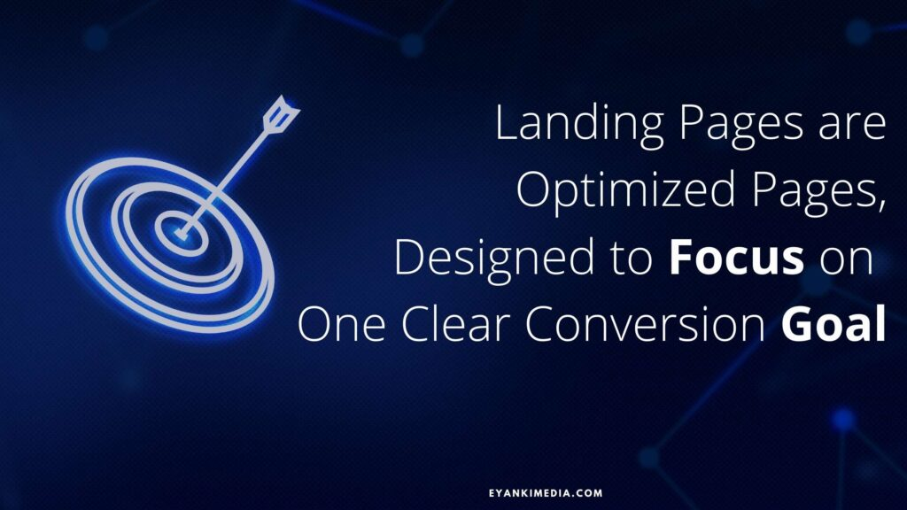 What are Landing pages