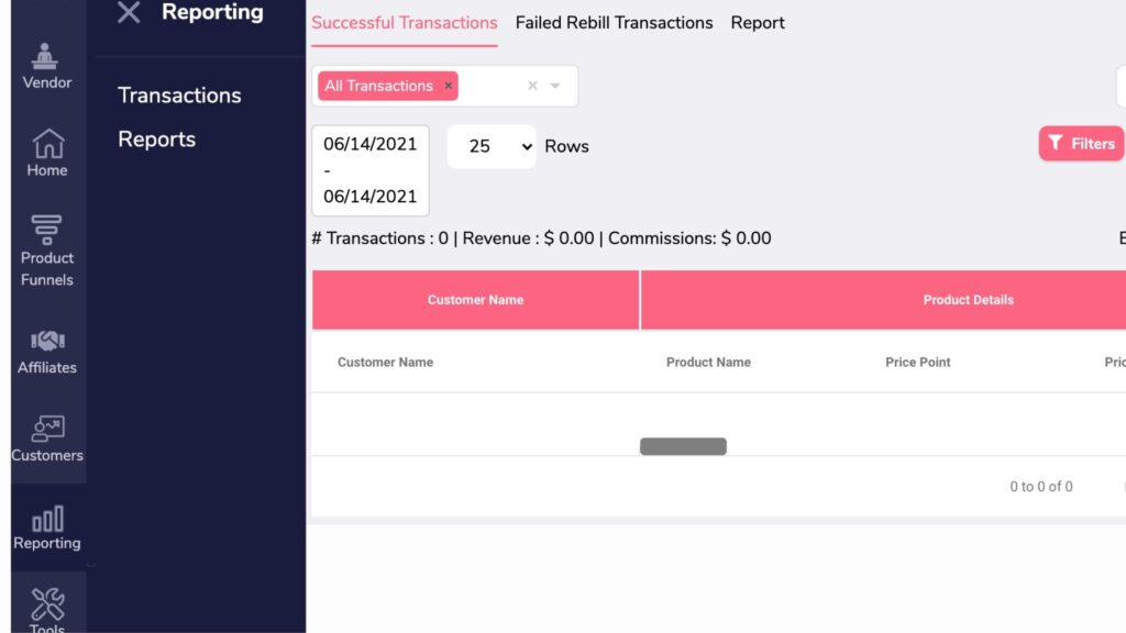 Groovesell reporting
